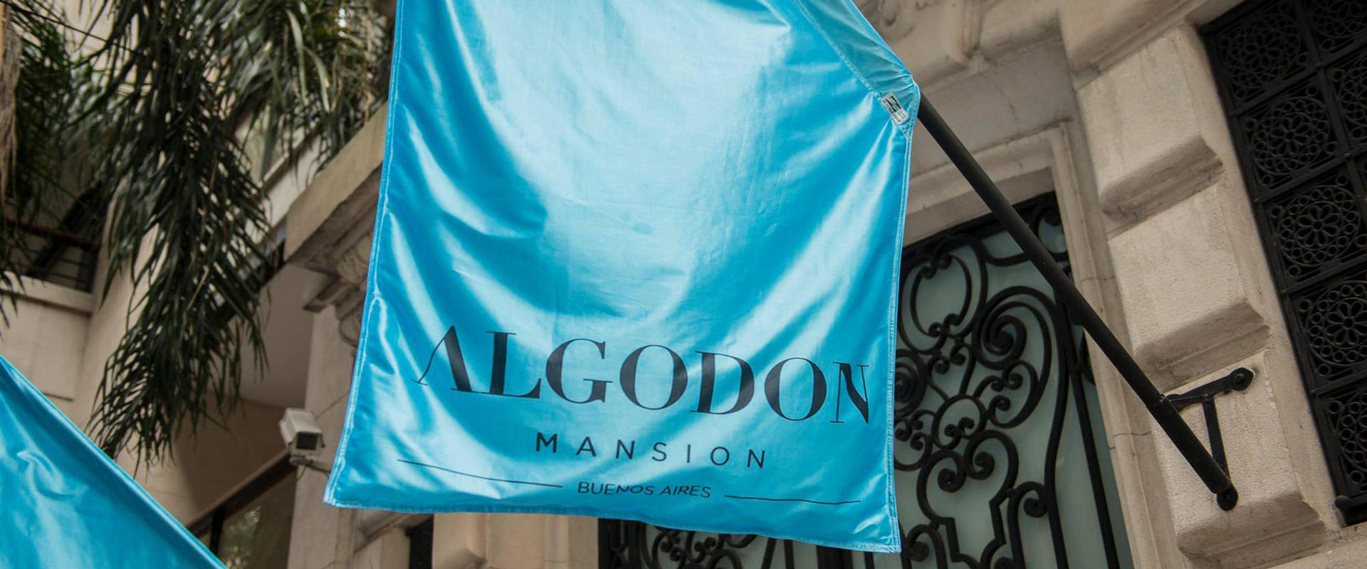Algodon Mansion Flag