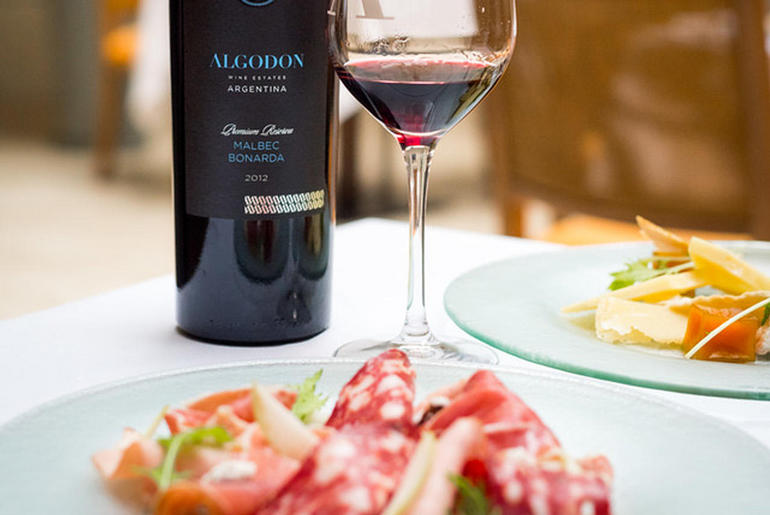 Algodon Wine and charcuterie